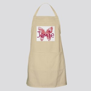 camo butterfly : name personalize, initials Apron