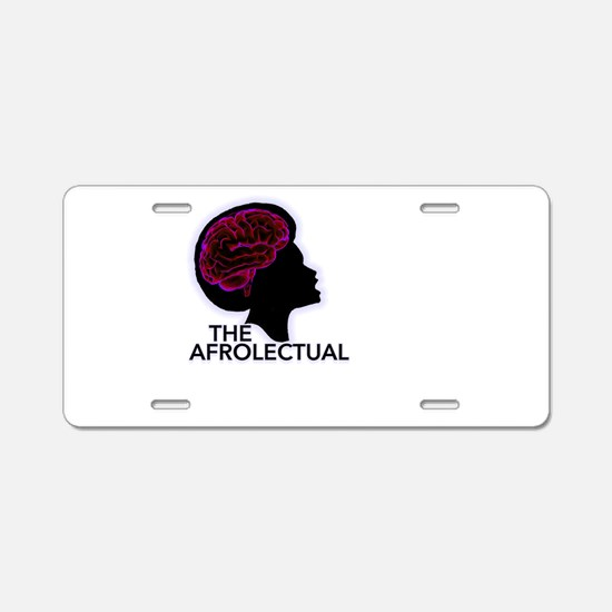 The AfroLectual Aluminum License Plate