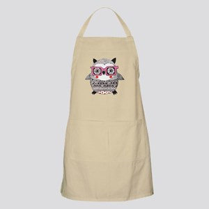 Embroider Look Owl Apron