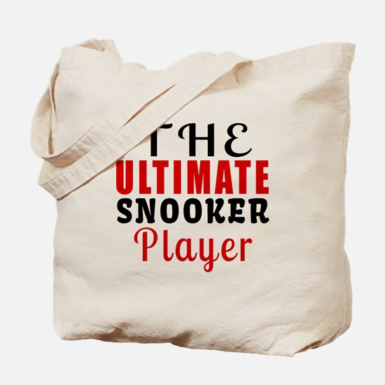 The Ultimate Snooker Player Tote Bag