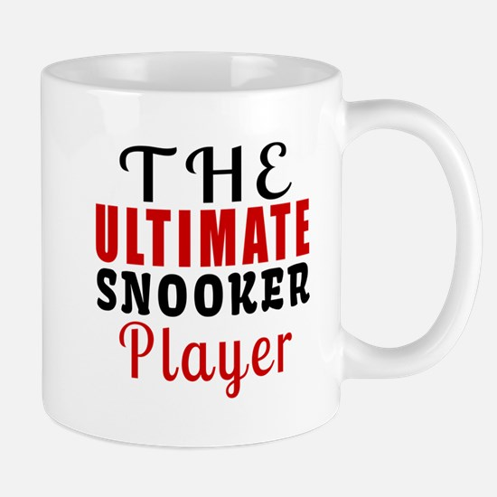 The Ultimate Snooker Player Mug