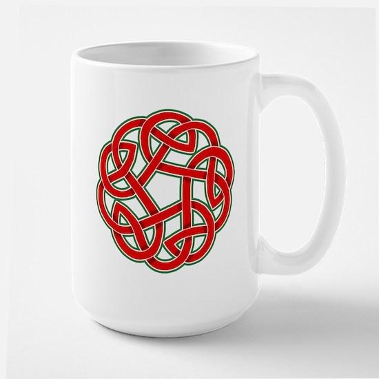Celtic Christmas Knot Large Mug