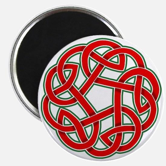 Celtic Christmas Knot Magnet