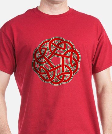 Celtic Christmas Knot T-Shirt