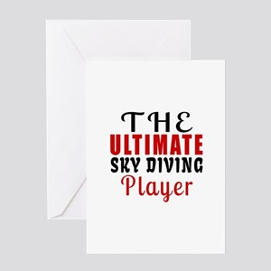 The Ultimate Sky diving Player Greeting Card