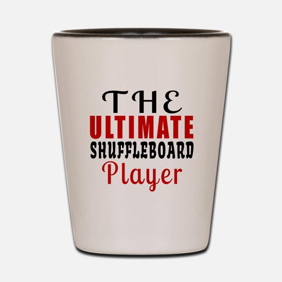 The Ultimate Run Player Shot Glass