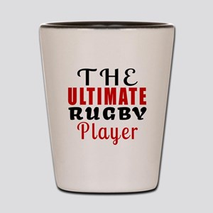 The Ultimate Rugby Player Shot Glass