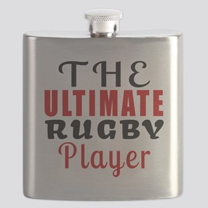 The Ultimate Rugby Player Flask