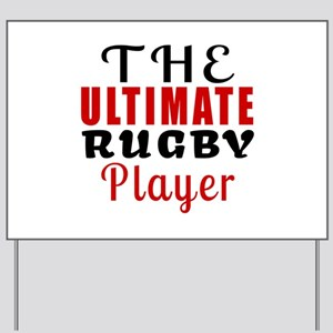 The Ultimate Rugby Player Yard Sign