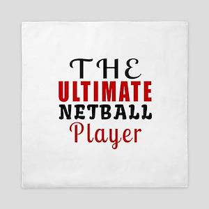 The Ultimate Netball Player Queen Duvet