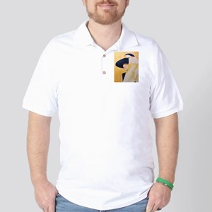 audrey, gold Golf Shirt