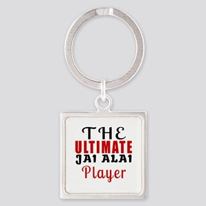 The Ultimate Jai Alai Player Square Keychain