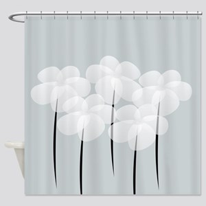 Cool Floral Gardener Shower Curtain