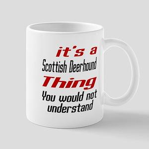 Scottish Deerhound Thing Dog Designs Mug