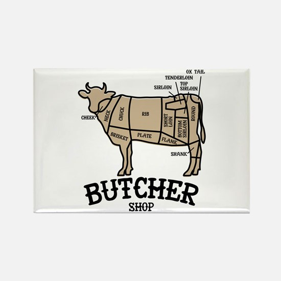 Butcher Beef Magnets