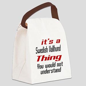 It's Swedish Vallhund Dog Thing Canvas Lunch Bag