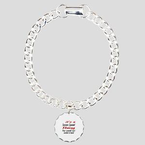 It's Sussex Spaniel Dog Charm Bracelet, One Charm