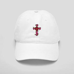 Pink Camo Cross Cap