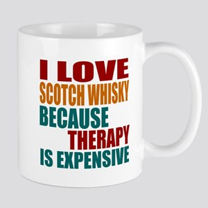 Drink Scotch Whisky Is My Therapy Mug