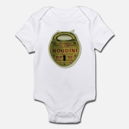 Houdini Lock Poster Infant Bodysuit