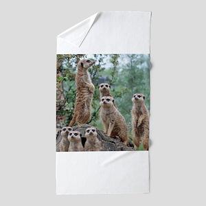 Meerkat010 Beach Towel