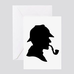 Sherlock Holmes Greeting Cards