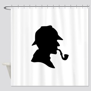 Sherlock Holmes Shower Curtain