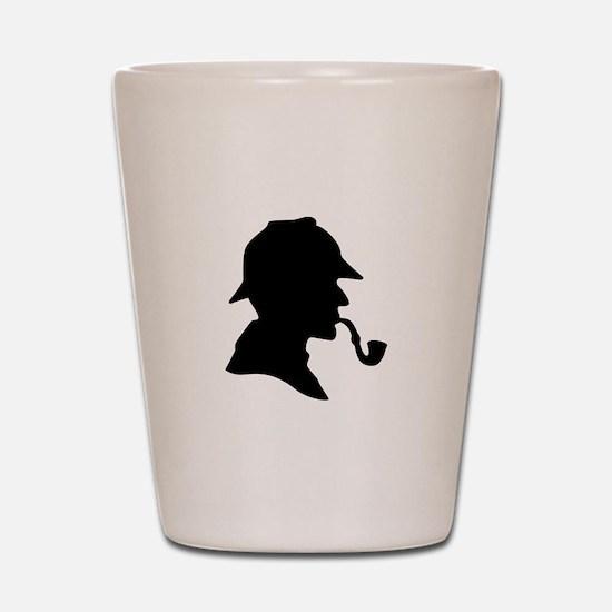 Sherlock Holmes Shot Glass