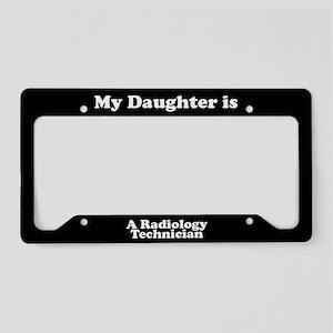 Daughter - Radiology Technician - LPF License Plat
