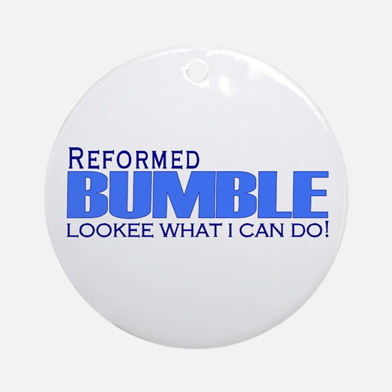 Reformed Bumble Ornament (Round)