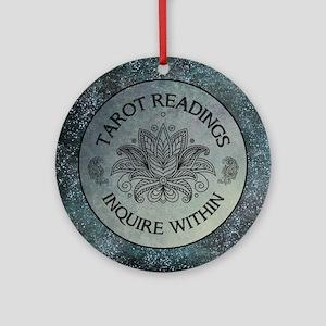 TAROT READINGS Round Ornament