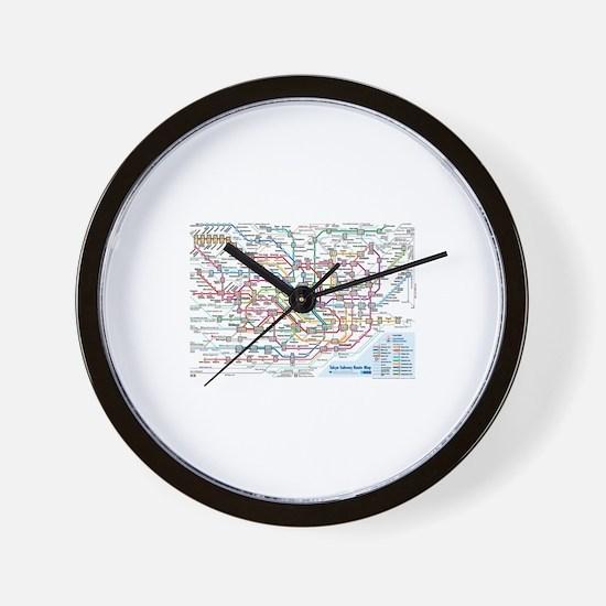 Unique Public safety Wall Clock