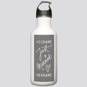 Just Married Personali Stainless Water Bottle 1.0L