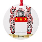 Yancey Round Ornament