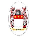 Yancey Sticker (Oval)