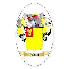 Yakutin Sticker (Oval)