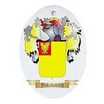 Yakubovitch Oval Ornament