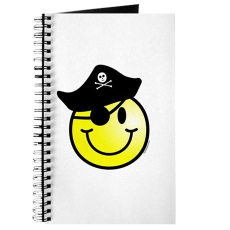 Smiley Pirate Journal