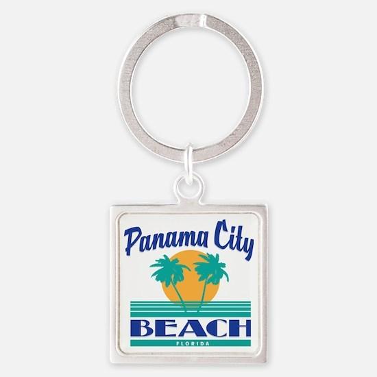 Florida souvenirs Square Keychain