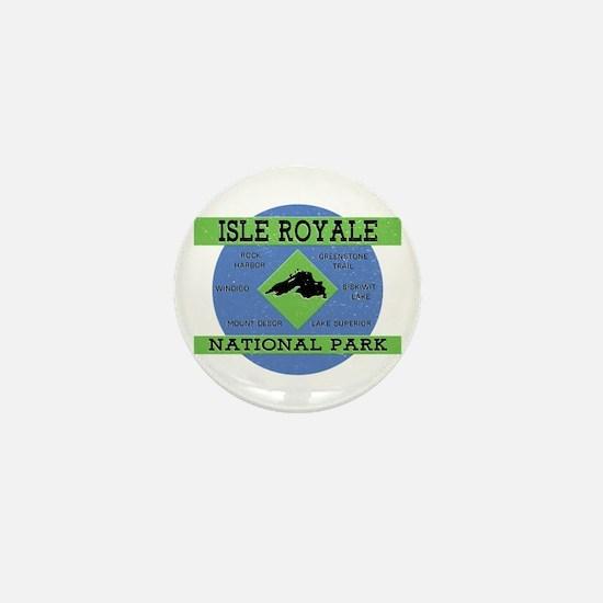 Cute Isle royale national park Mini Button