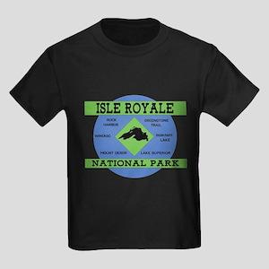 Isle Royale Lake Superior National Park Re T-Shirt