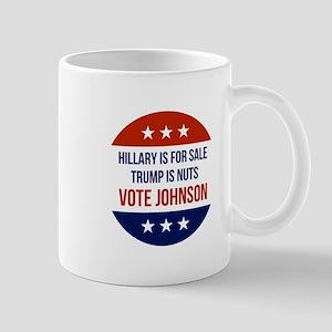 Vote Gary Johnson Mugs