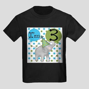 Elephant 3rd Birthday T-Shirt
