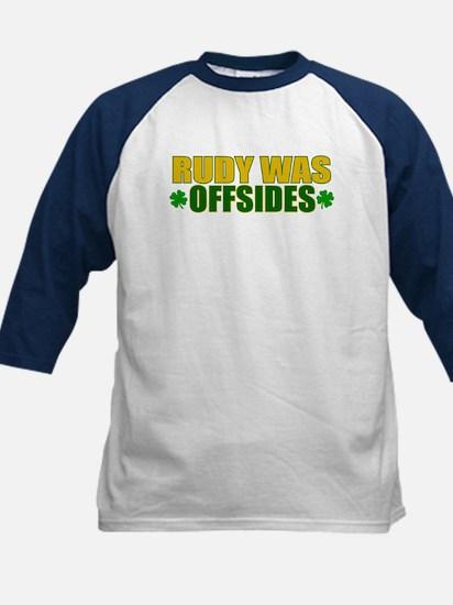 Rudy Offsides (2) Kids Baseball Jersey