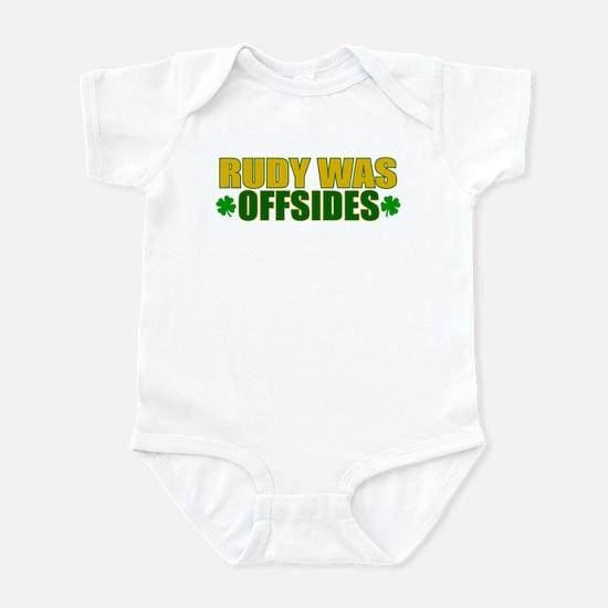 Rudy Offsides (2) Infant Bodysuit