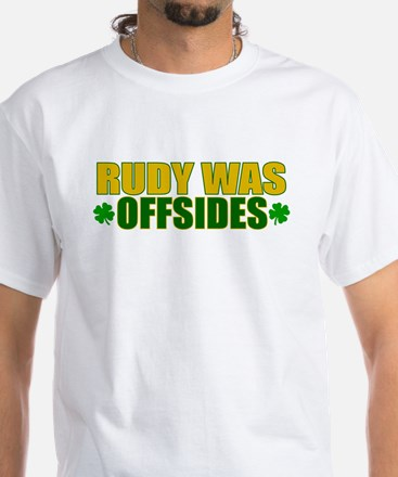 Rudy Offsides (2) White T-Shirt