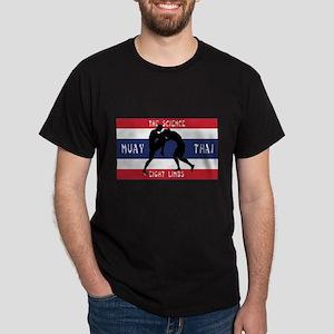 Thai Flag Muay Thai Design T-Shirt