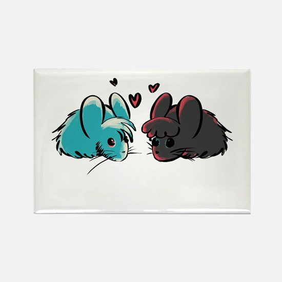 Cuddly Mice Magnets