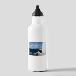 The Greek Isles - Mykonos Greece Water Bottle
