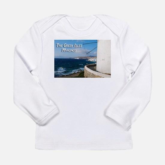 The Greek Isles - Mykonos Greece Long Sleeve T-Shi